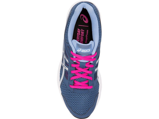 ASICS WOMEN'S GEL-CONTEND 5 NAVY PINK RUNNING SHOES