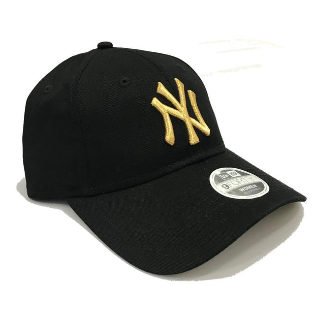 NEW ERA NEW YORK YANKEES 9FORTY BLACK GOLD CAP