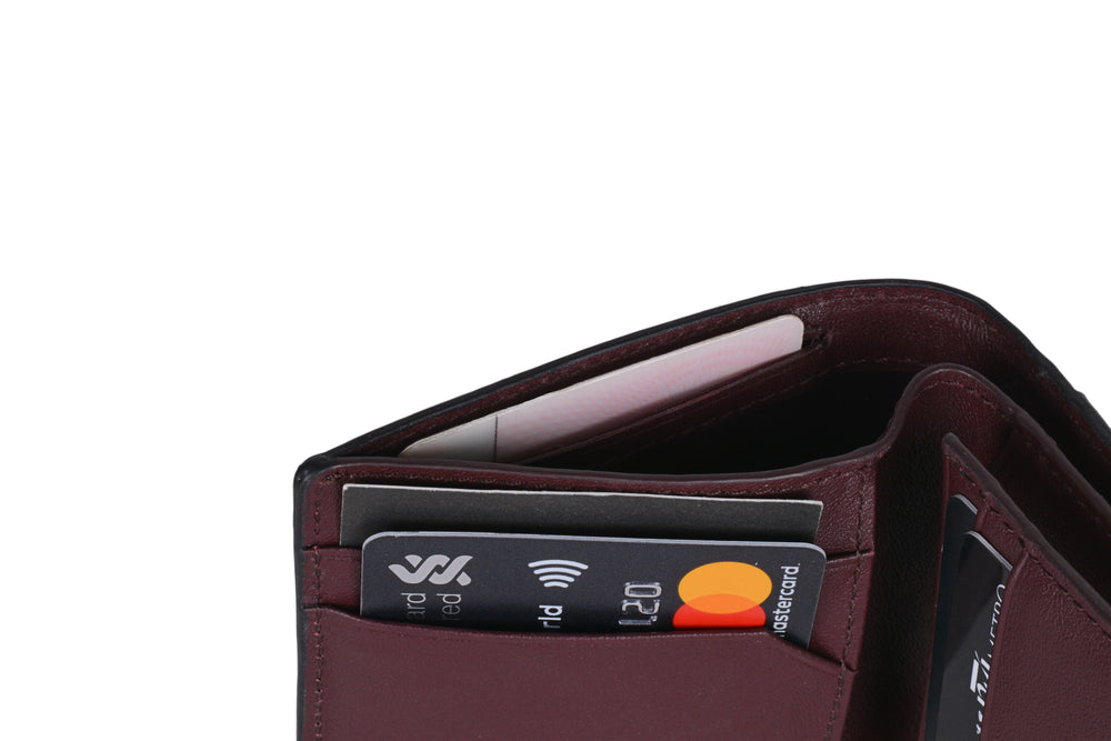 Hidden card slot for important cards that you would like to keep concealed