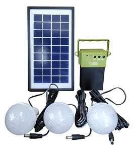 Solar Emergency Home Light with 3 Bulb - TTSEHL3W