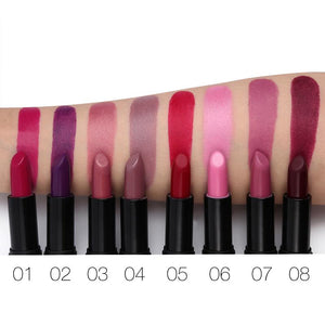 UCANBE 8 Colors Matte Lipstick Makeup Moisture Smooth Velvet Lip Stick