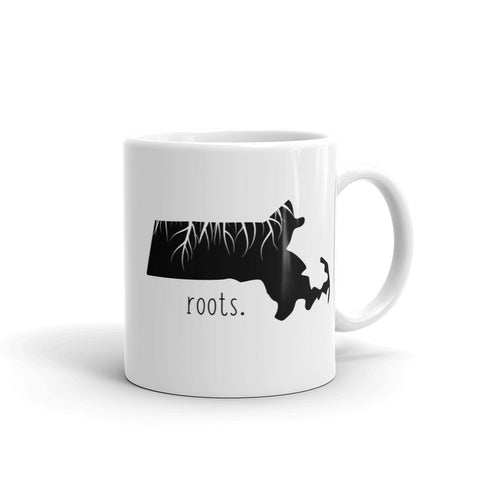 Massachusetts Roots Mug - OnlyInYourState Apparel