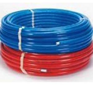 Tube multicouche en couronne 20x2-50m- isole PU 6mm - Rouge