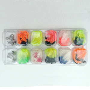 Basstrike Soft Plastic Tubes and Jig Heads Kit