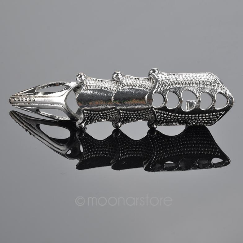 Devil Armor Knuckle Full Finger Ring - The Creative Booth