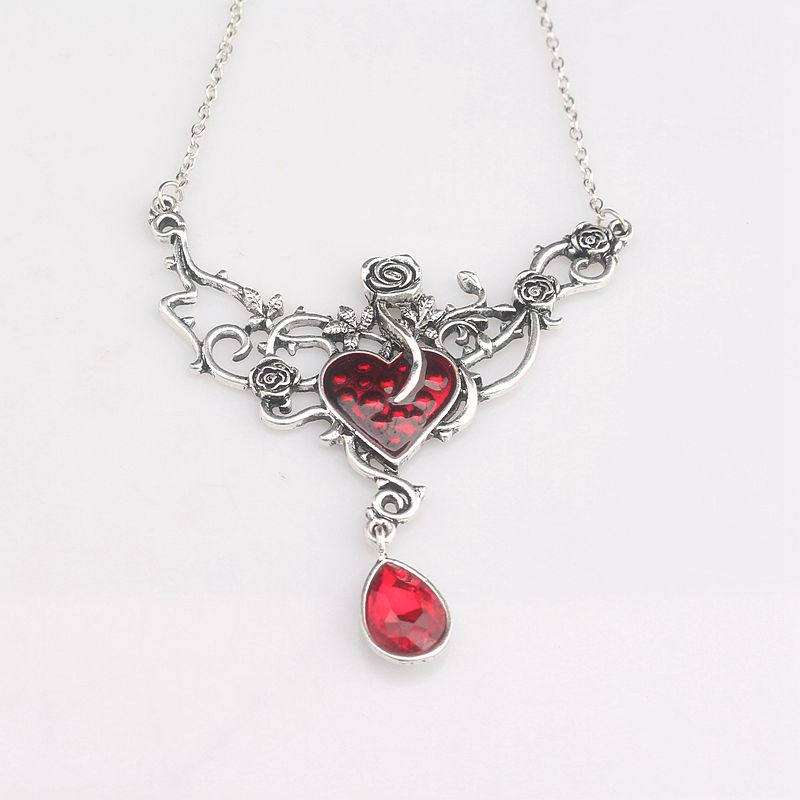 Rosy Devil Red Heart Necklace - 50% Off + FREE Shipping!