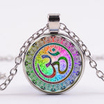 Rainbow India Gem Necklace - Free Shipping - The Creative Booth