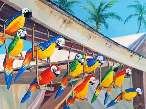 Parrots on Parade