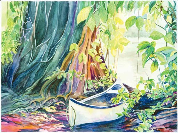 Jungle Canoe