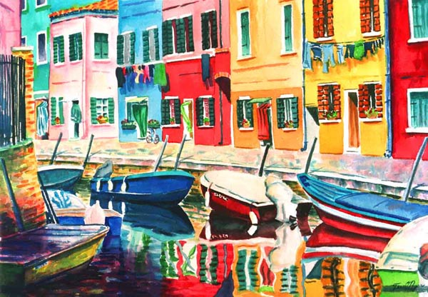 Reflections of Burano