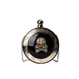 Jolly Roger Acrylic Clutch