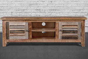 Recycled wood Tv stand - Casa Suarez