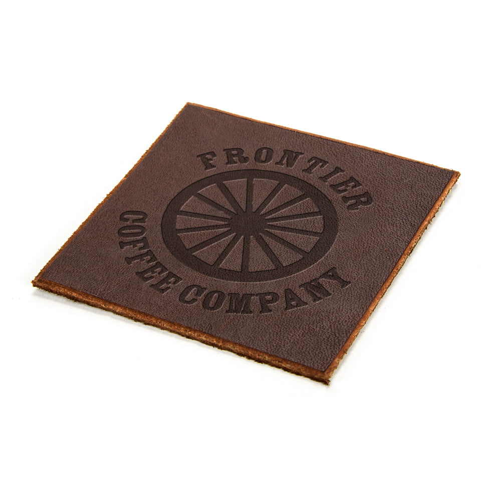 Frontier Coffee (or whiskey) Coasters