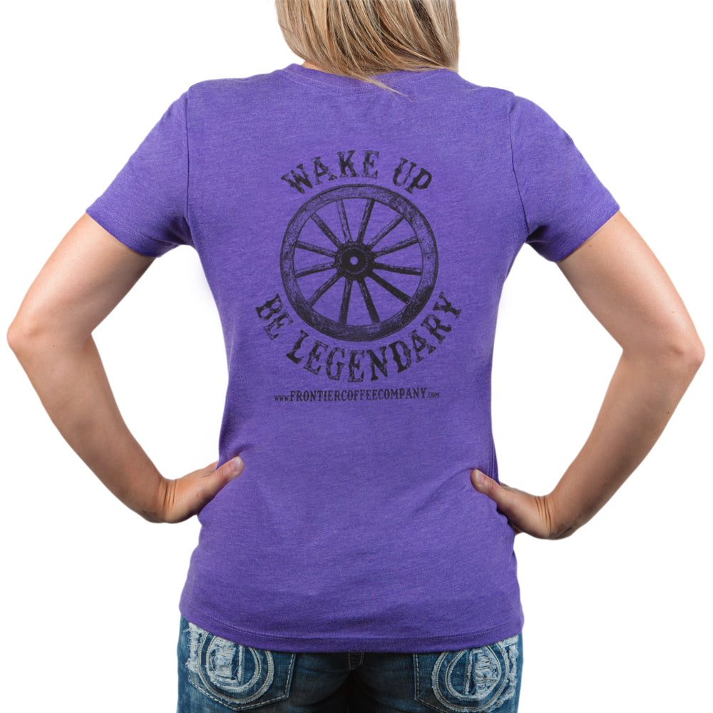 Wake Up & Be Legendary - Women's Tee