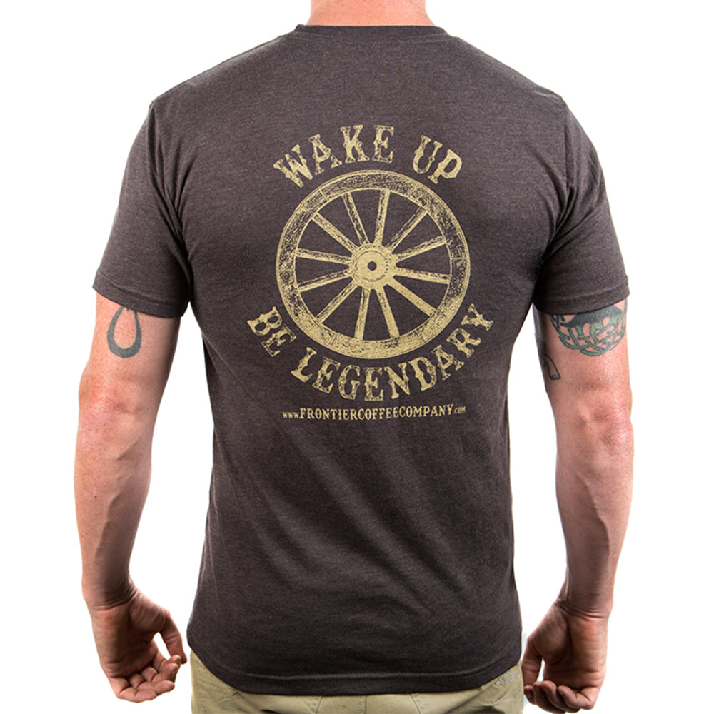 Wake Up & Be Legendary - Men's Tee