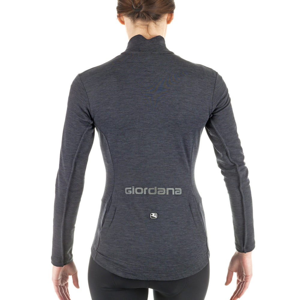 Women's Sosta Merino Long Sleeve Jersey - Giordana Cycling