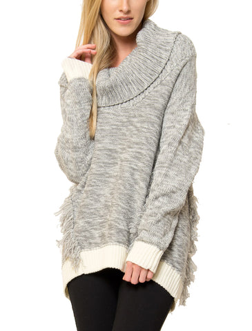 Hailey Cowl-Neck Sweater