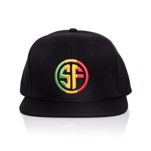 Red Gold Green SF Hat