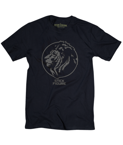 Midnight Lion Tee