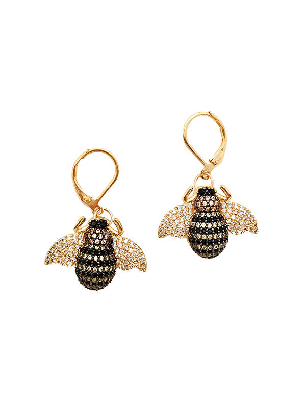 Bzzzzz Gucci Bee Earrings
