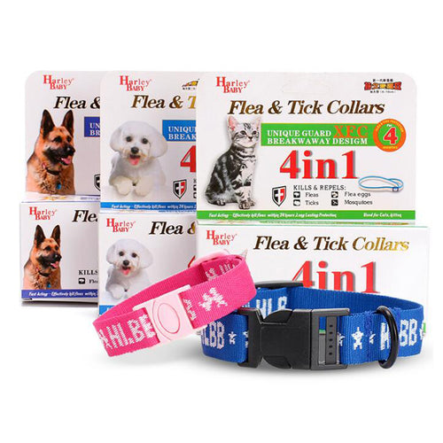 Flea & Tick Collar for Dogs-4 in 1