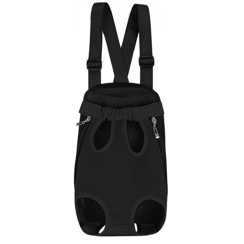 Hands Free Traveling Doggy Backpack with Tail Hole