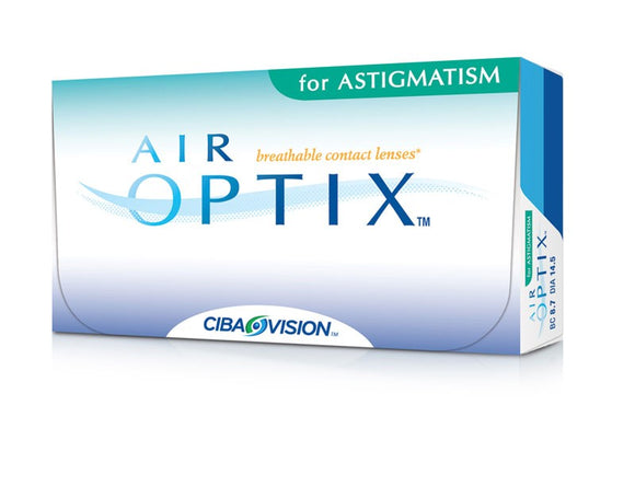 Air Optix for Astigmatism (3 Lenses Per Box)