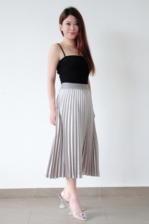CLARA Pleated Skirt