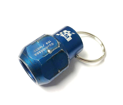 Ford Fiesta RS WRC Wheel Nut Key Ring