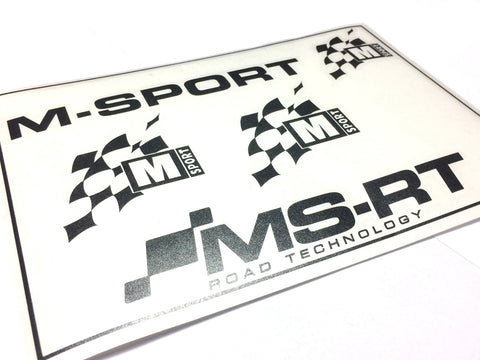 M-Sport & MS-RT Sticker Set