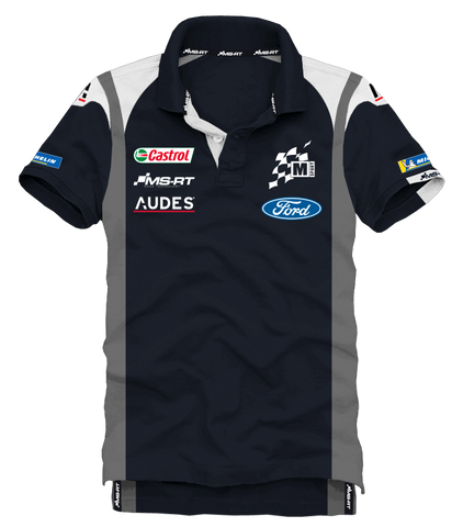 M-Sport Ford World Rally Team 2019 Mens Polo Shirt