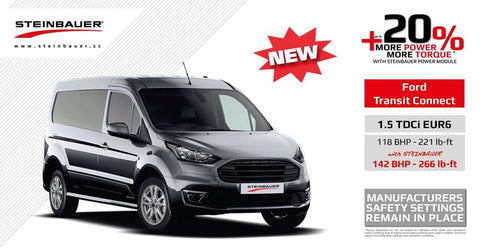 Ford Transit Connect 1.5 TDCI Euro 6 Power Enhancement by Steinbauer