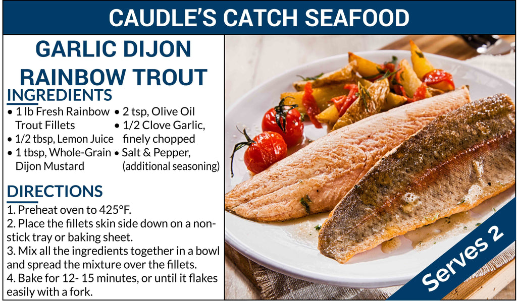 Garlic Dijon Rainbow Trout
