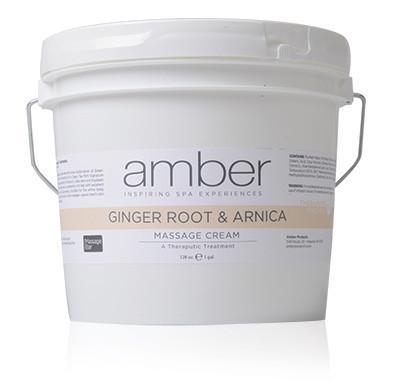 Ginger Root & Arnica Cream Therapeutic 128 oz.