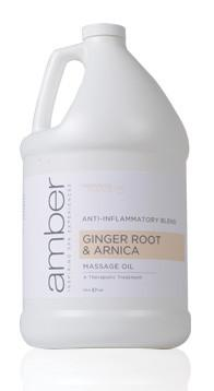 Ginger Root & Arnica Oil Therapeutic Oil 128 oz.
