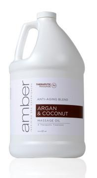 Argan & Coconut Oil Therapeutic Oil 128 oz.