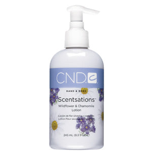 CND Wildflower & Chamomile Body Lotion 8.3 oz.