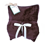 Soulage Purple Chenille Body Wrap