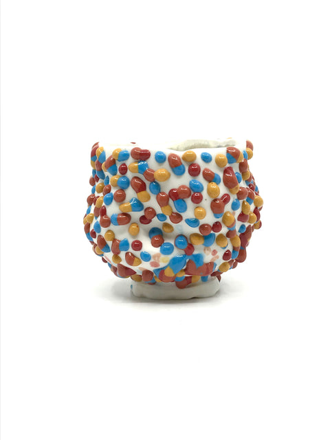 Handmade glazed cup by Nick Weddell