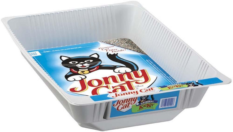 Jonny Cat KatKit Disposable Cat Tray with Free Litter