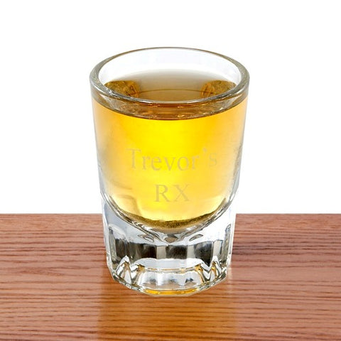 Personalized Distinction Shot Glass Free Engraving - GiftsEngraved