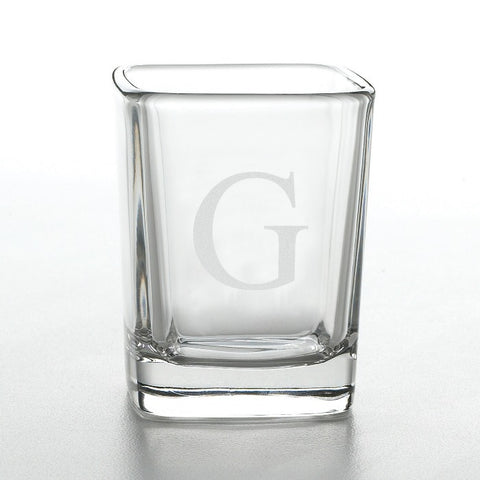 Personalized Aris Square Shot Glass Free Engraving - GiftsEngraved