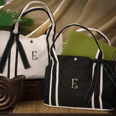 Personalized Roman Holiday Petite Tote Free Monogramming - GiftsEngraved