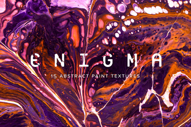 Enigma: 15 Abstract Paint Textures