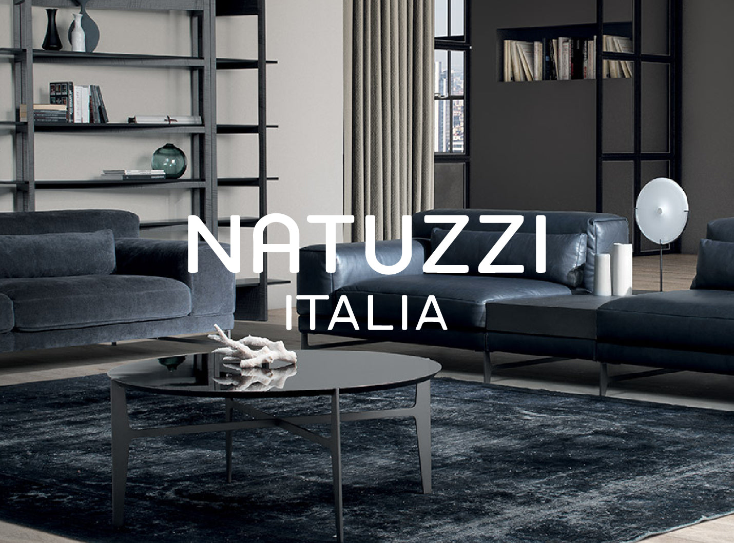 Natuzzi Italia furniture at Grayson Home