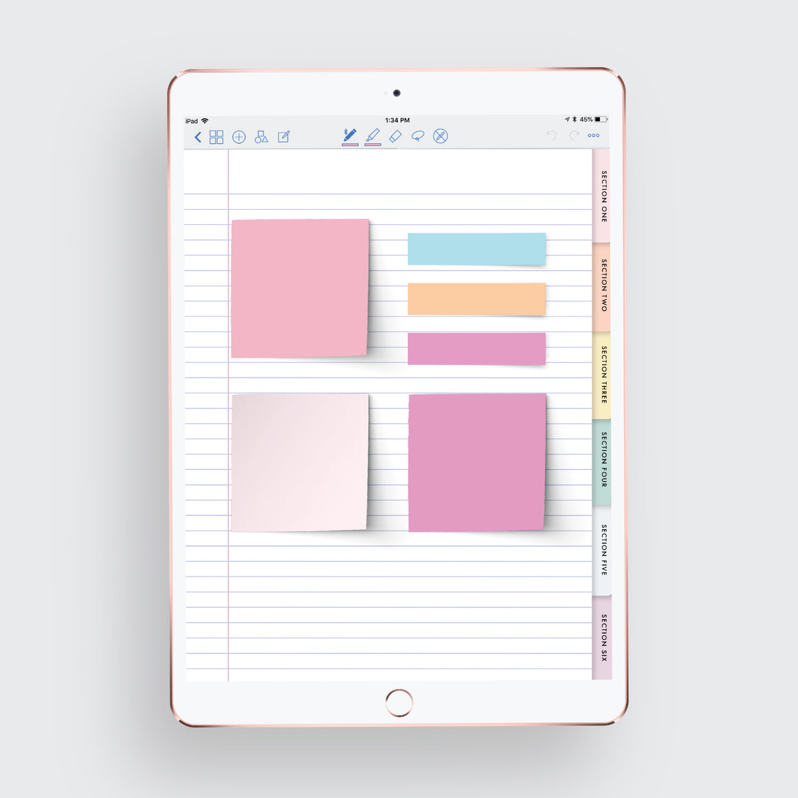 Digital Sticky Notes