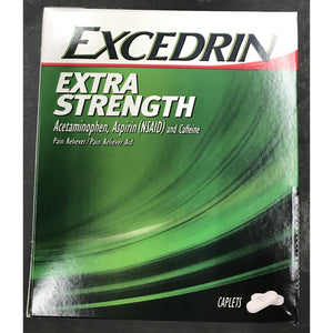 Excedrin Extra Strength 50ct Display