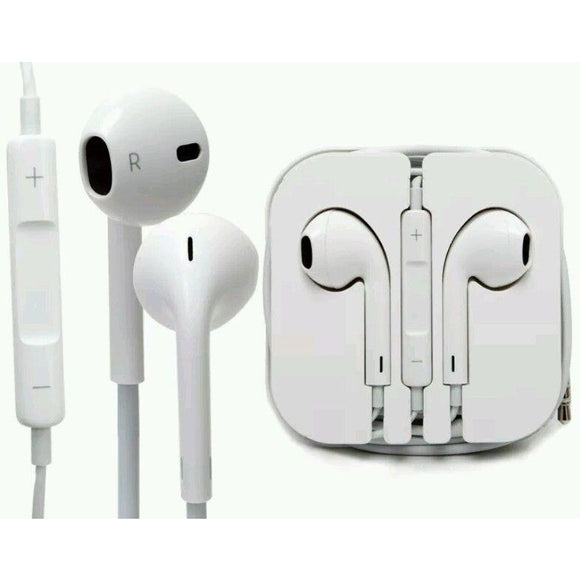 In-Ear - Earphones W/ Volume Control & Mic 6pk