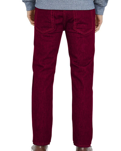 Branded Red Jeans for Mens - Original Dressman Brand
