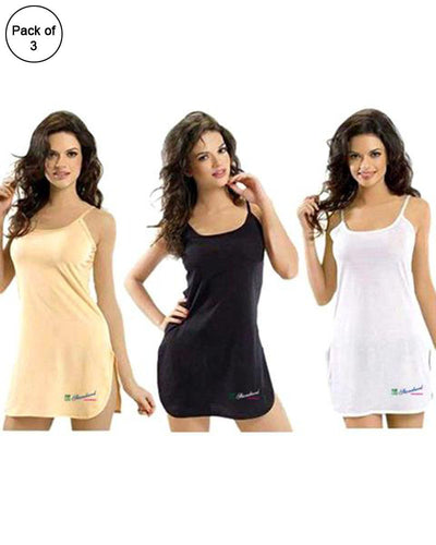 Pack Of 3 - Standard Plain Supersoft Camisole